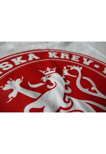 TRIČKO KRUH ČeskáKrev - bíločervené