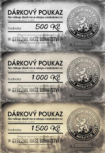 Dárkový poukaz Česká Krev