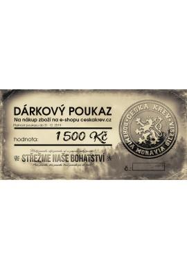 Dárkový poukaz Česká Krev (1000 Kč)